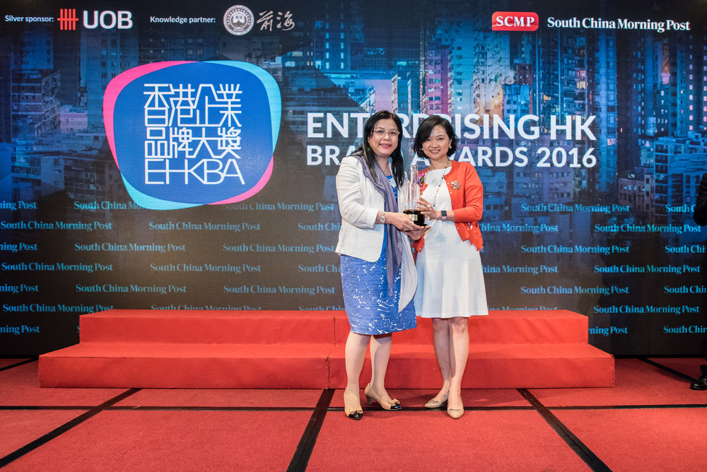Winner of Best HK Retail & Hospitality Brand ( Publicly - listed company)