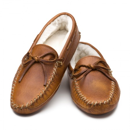 Bison Slipper from Rancourt & Co.