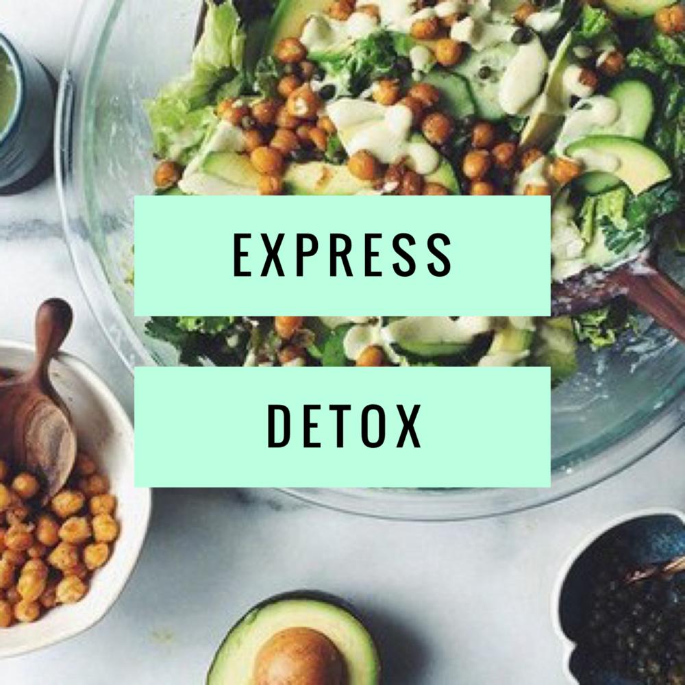 2 Week Express Detox $390