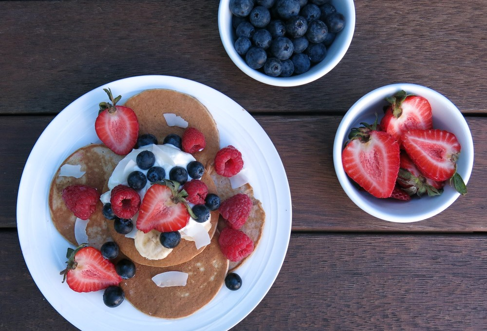 Banana Oat Pancakes  from Danijela's blog Healthy Always