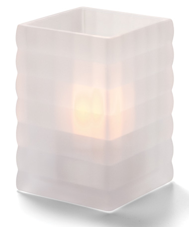 SATIN CRYSTAL TEALIGHT $4.00