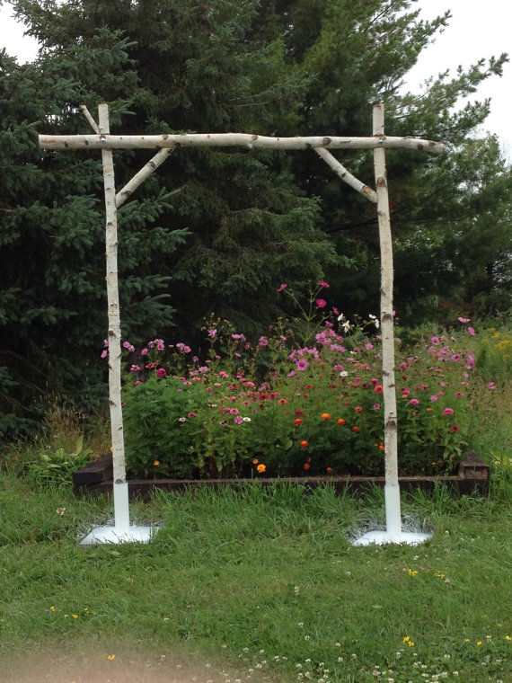 BIRCH WEDDING ARCH $100 (SET UP INCLUDED)