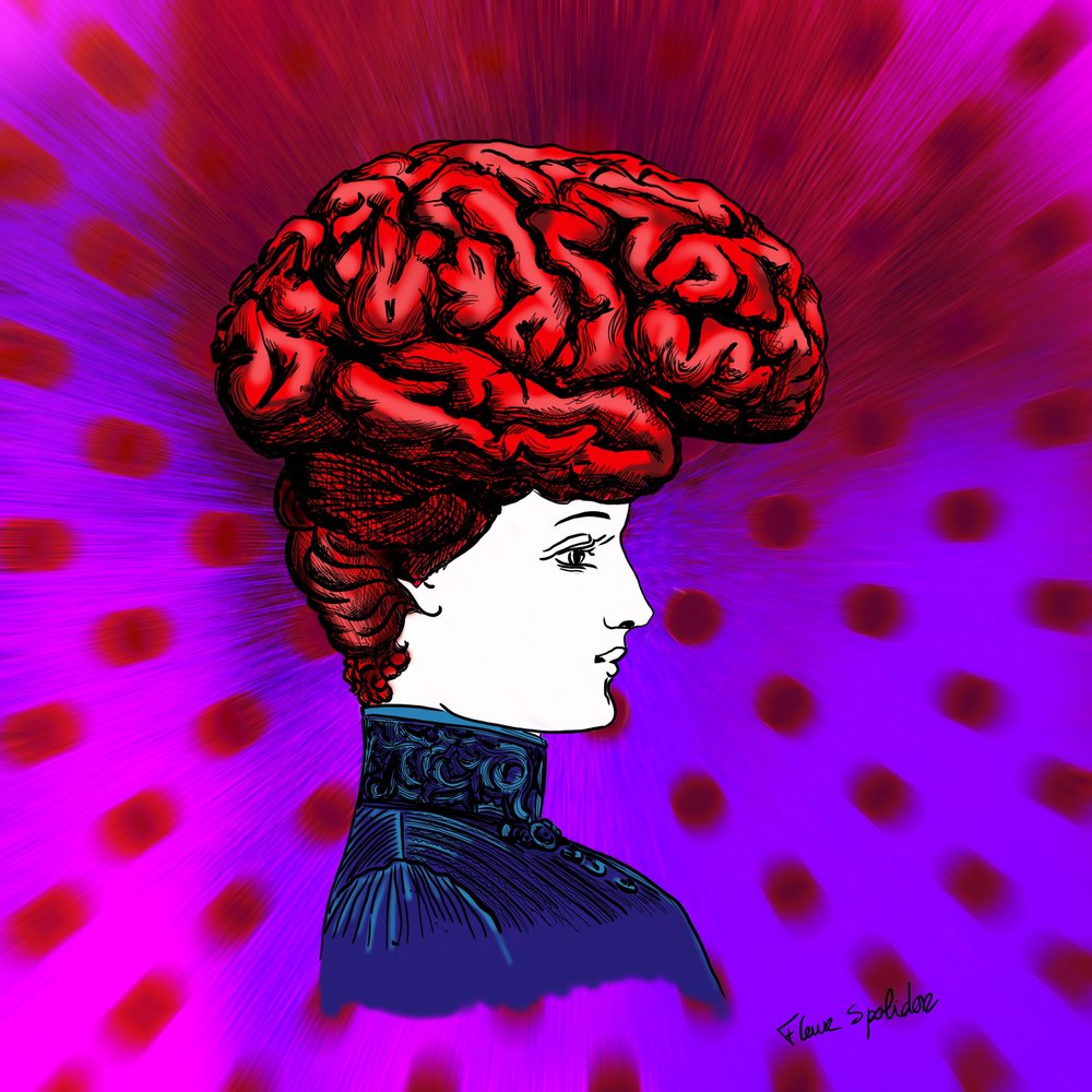She Has a Mind of Her own-Fleur Spolidor-Digitalpainting.jpg