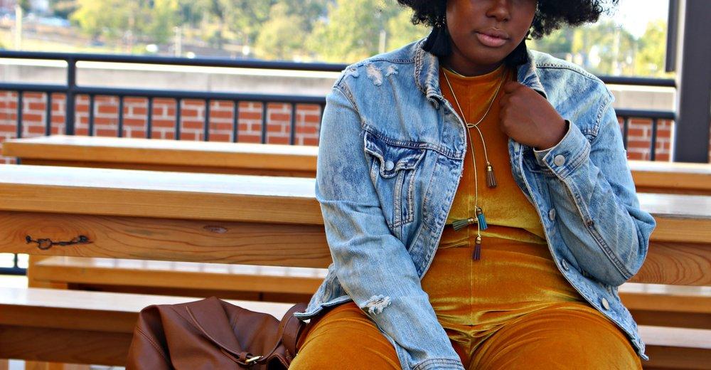 Zara Velvet Jumpsuit
