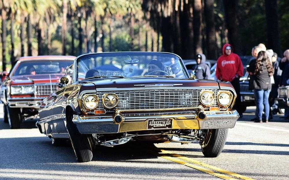 1963 Impala Las Vegas lowrider - Streetwise Car Club