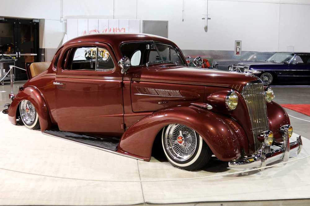 Daniel Tovars Chingon 1937 Chevy Sports Coupe