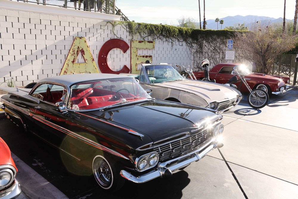 Sunday Slacker - Palm springs classic car show