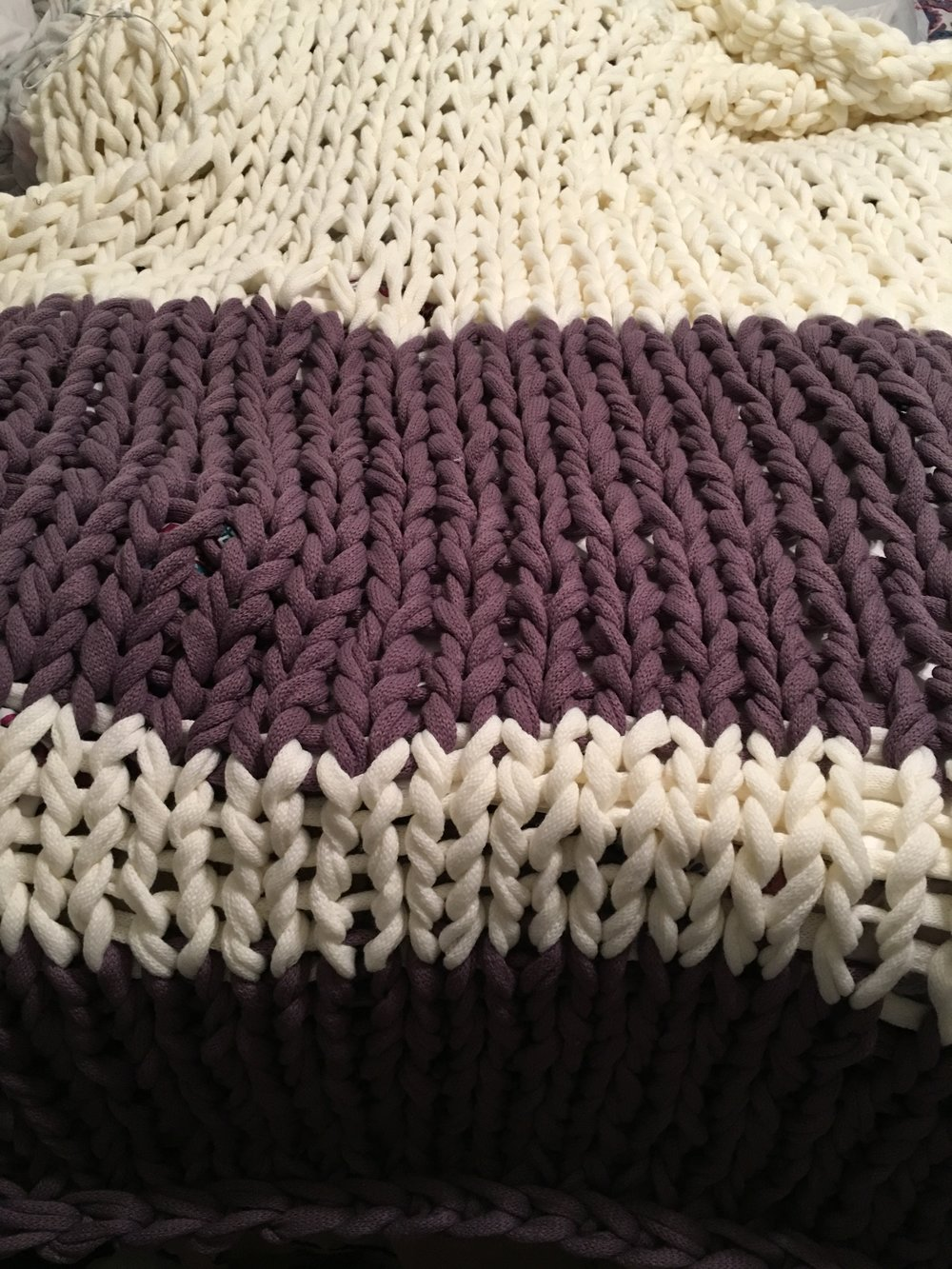 Second blanket complete :) :) :)!!!!