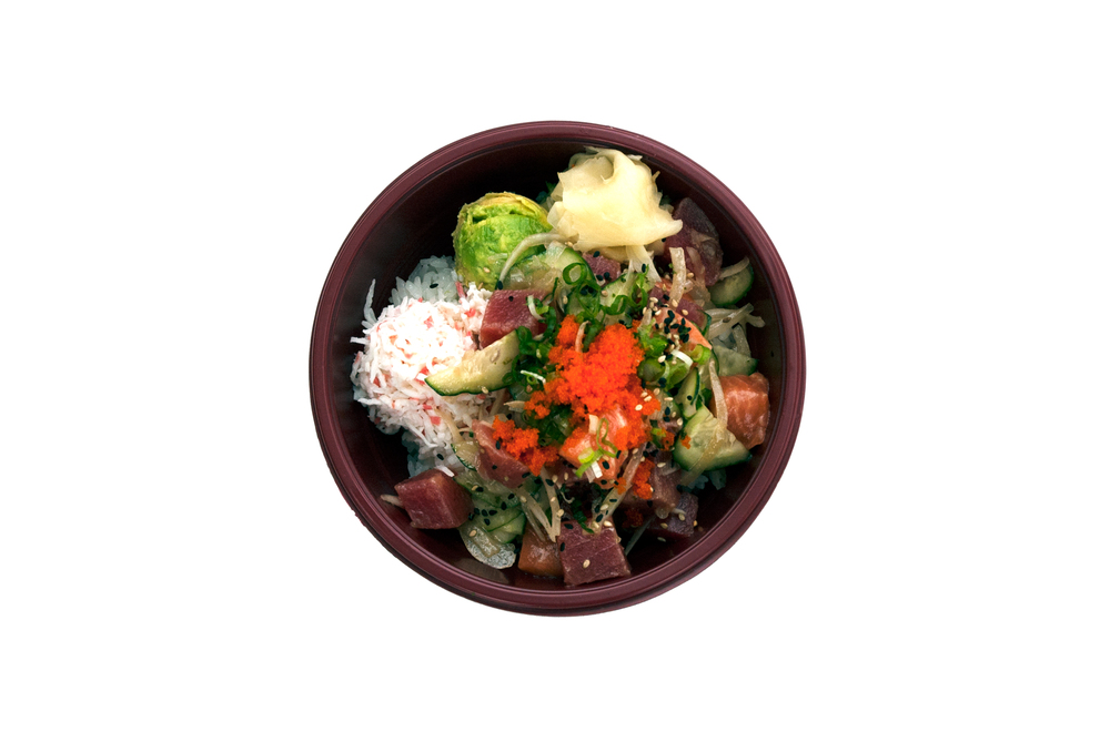 Poke Rice Bowl