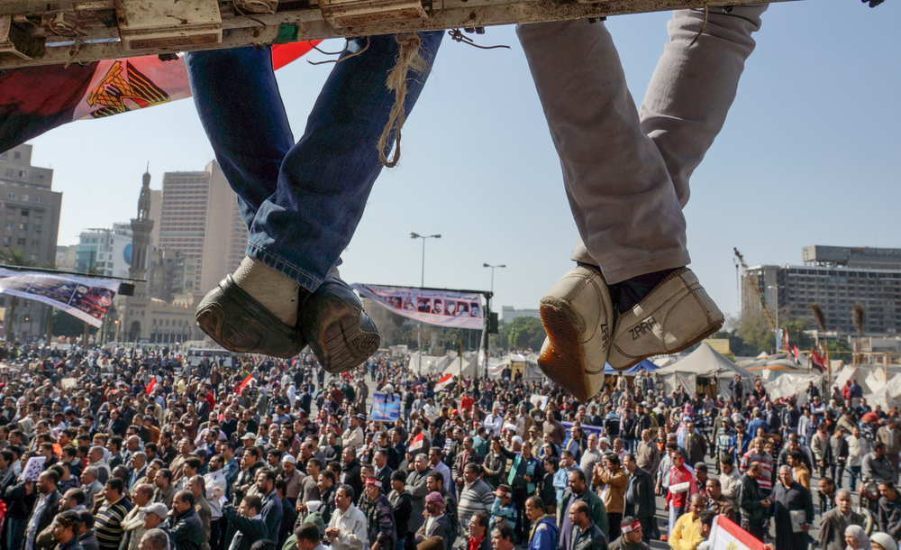 Cairo, Egypt - February 8, 2013