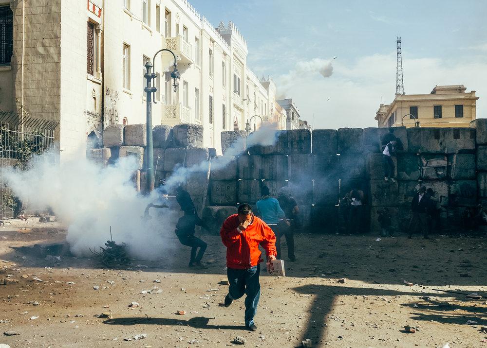 Cairo, Egypt - January 25, 2013