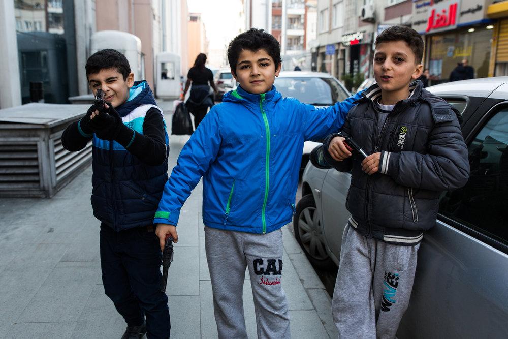 Fener neighborhood, Istanbul, Turkey