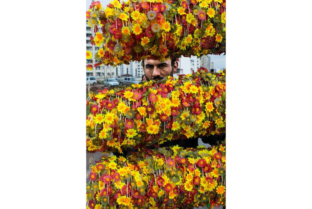 Newroz in Diyarbakir, Turkey