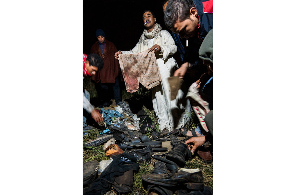A train crash killed 19 young military conscripts on the outskirts of Cairo - January 2013