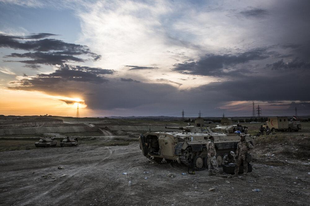9th Armored Division near Musharrifah, Iraq