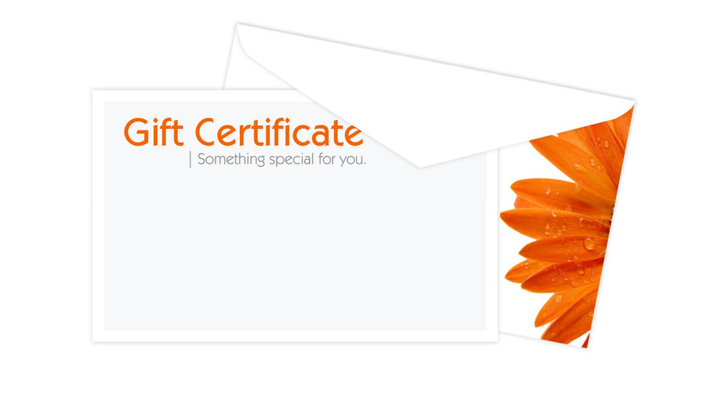 Wanting to give the gift of portraits to your family and friends? Gift Certificates are available!