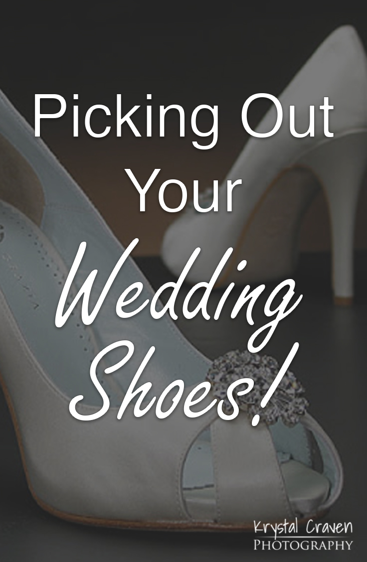 KCP Wedding Day Shoes Pinterest Image