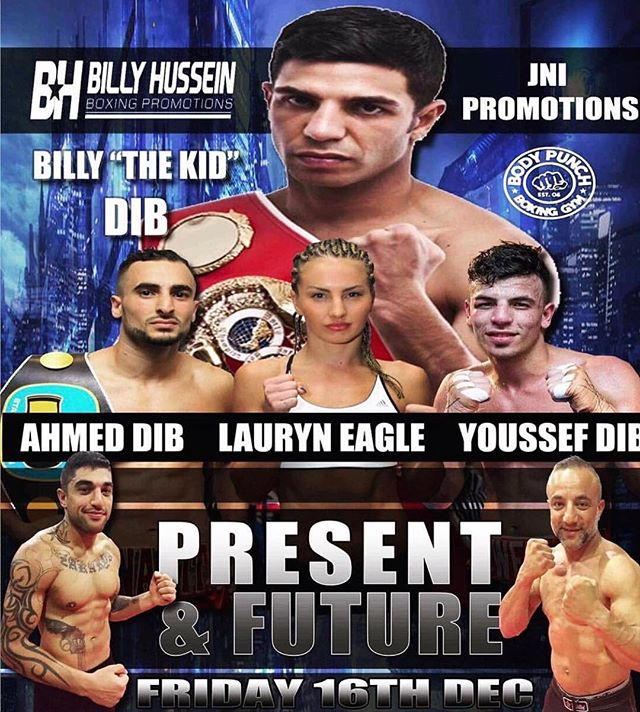 Excited for my last fight in 2016 on December 16th, Emporium Function centre alongside: @uwee_dib @billydib @ahmeddib Dylan Emery and many more fighters. For all ticket enquiries: lauryn.eaglefitness@gmail.com #boxing #fightnight #dec16th #family #friends #love ❤️👊🏻❤️️