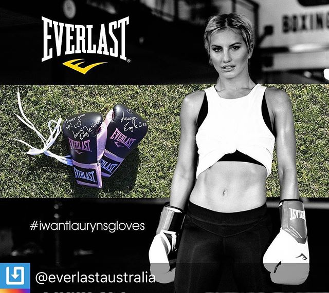 """RepostBy @everlastaustralia: """"💥💪 WANT LAURYN'S GLOVES?💪💥 No more excuses!  Summer is here so get pumped to reach your health and fitness goals with a little help from Aussie champ and Everlast Ambassador @LaurynEagle!  Win your very own pair of limited edition Everlast boxing gloves signed by Lauryn herself in 3 easy steps: 👊 Follow @everlastaustralia on Instagram 👊 Like this pic 👊 Share an awesome BOXING OR FITNESS related photo of YOU - then tag @everlastaustralia and #iwantlaurynsgloves. Our judges will pick the most fun, popular and creative photo (likes = extra points, so tell your friends!) The lucky winner will receive Lauryn's signed gloves PLUS we will feature YOU on @everlastaustralia - major props! 😎  GOOD LUCK!"""" (via #InstaRepost @EasyRepost)"""