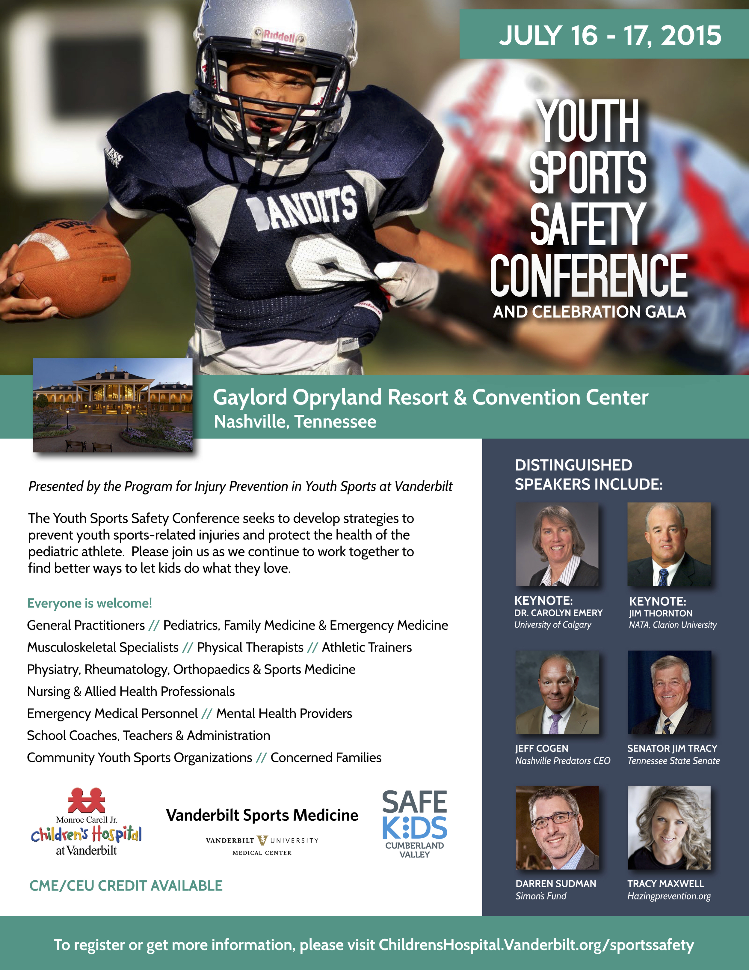 2015_Youth_Sports_Safety_Conference_Flier