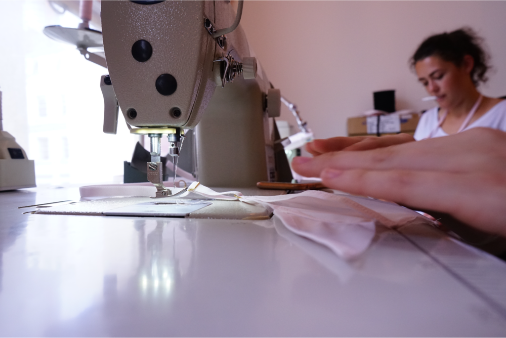 the lara team making lingerie sustainable and ethical production