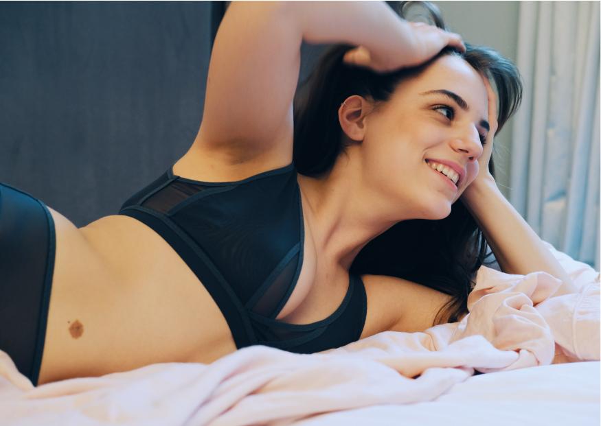 Lara Intimates soft bra sustainable reclaimed fabrics perfect fitting bra