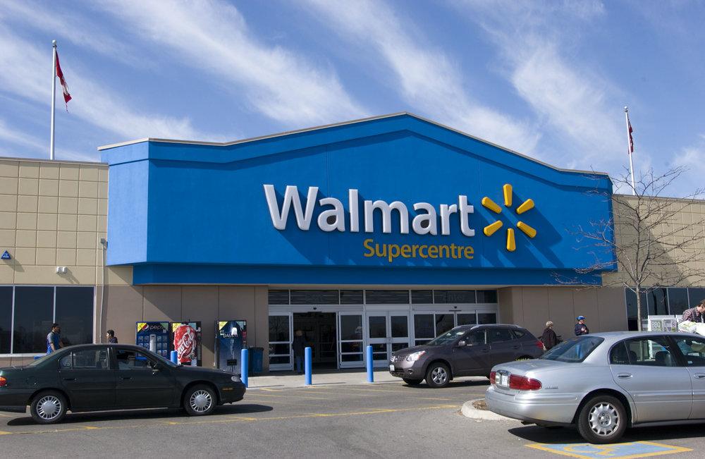 Wal-Mart in North Battleford*