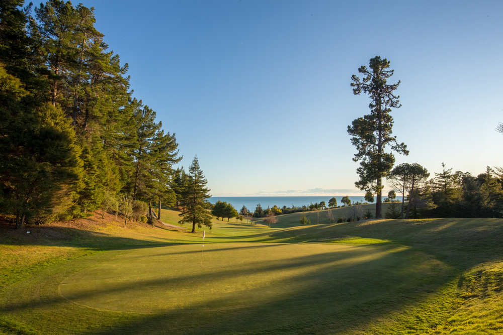 Tasman Golf Course - just a few minutes away