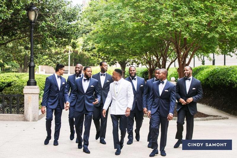 Atlanta Groom and Groomsmen Wedding Services by Cindy Samoht