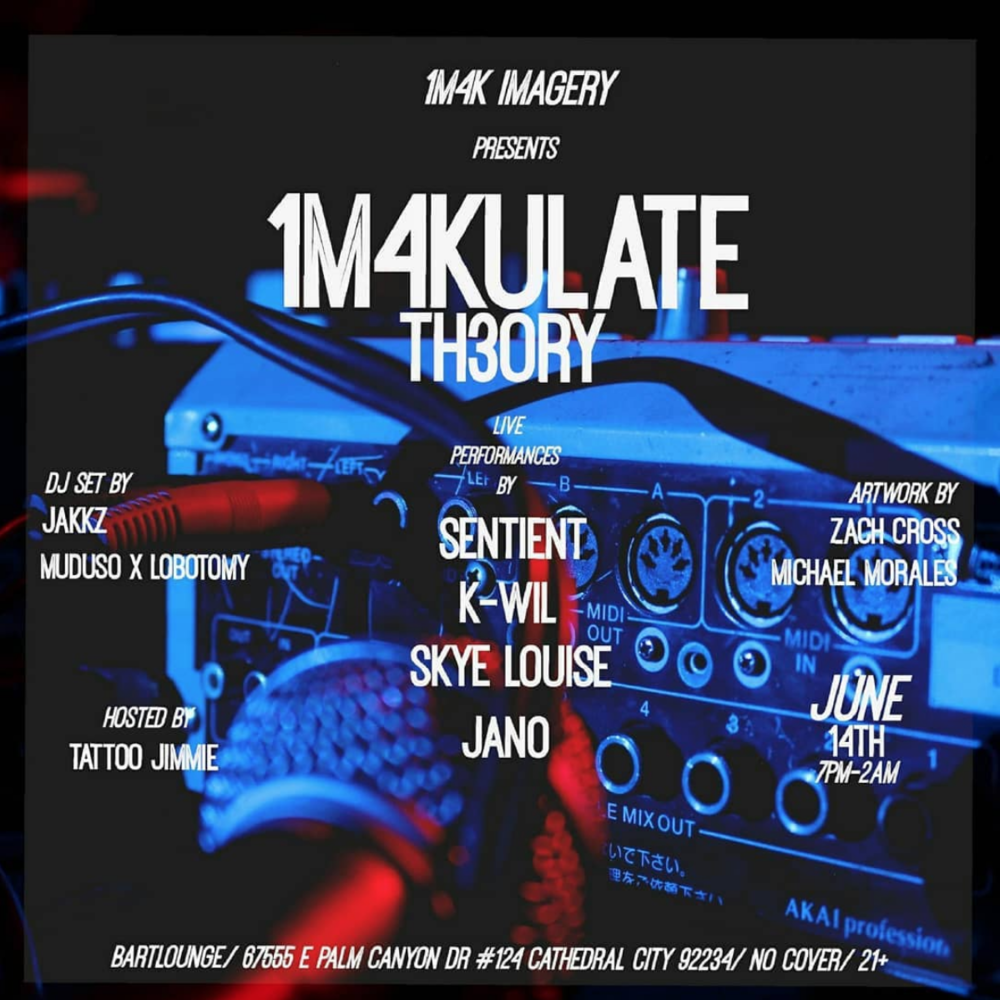 1m4kulate Theory LIVE at Bart Lounge