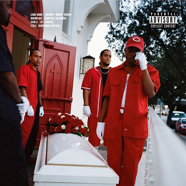 Something extra special on this one. 😶🤐 @ws_boogie #everythingsforsale #lvrn #shadyrecords #interscope #universal 1/25/2019