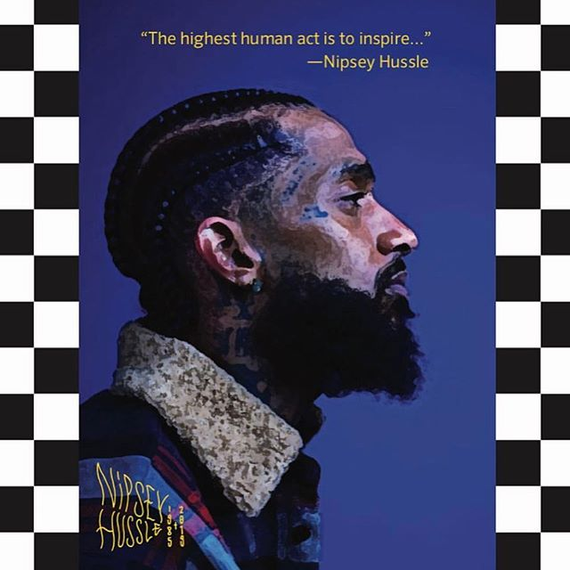 The inaguration of the Nipsey Hussle Basketball Court at Crete Academy is today.  The fine people at Veniceball did an amazing job putting this together.  2pm Youth Clinic 3pm Ribbon Cutting Ceremony 4pm HS Showcase 5pm All Star Game  Crete Academy is located at 6103 Crenshaw Blvd  The event is free  For more information visit the link in bio