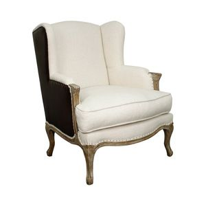Mademoiselle Leather Armchair