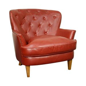 Louise Bonded Leather Armchair