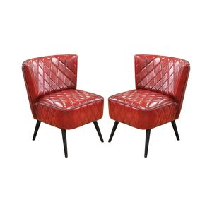 Addams Dining Chair in Red