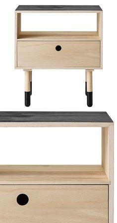 Cadbury Wood Side Table
