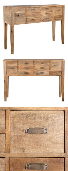 Cataloger Console Table