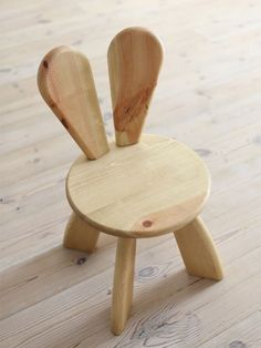 Bunny Wooden Chair