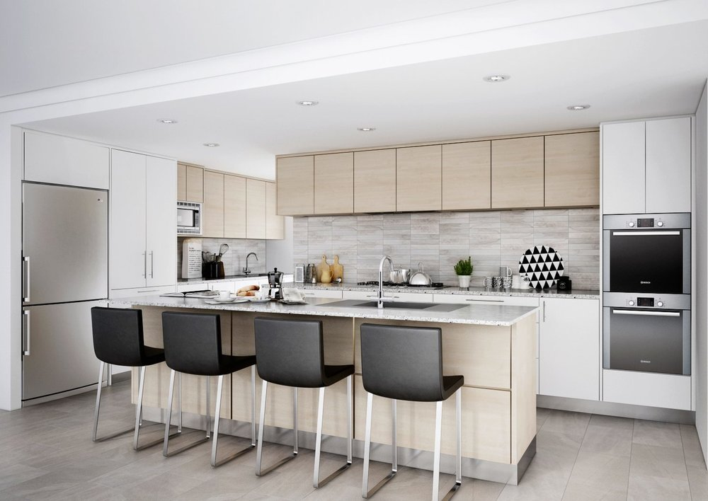 get kitchen 3d visualised - interior design services