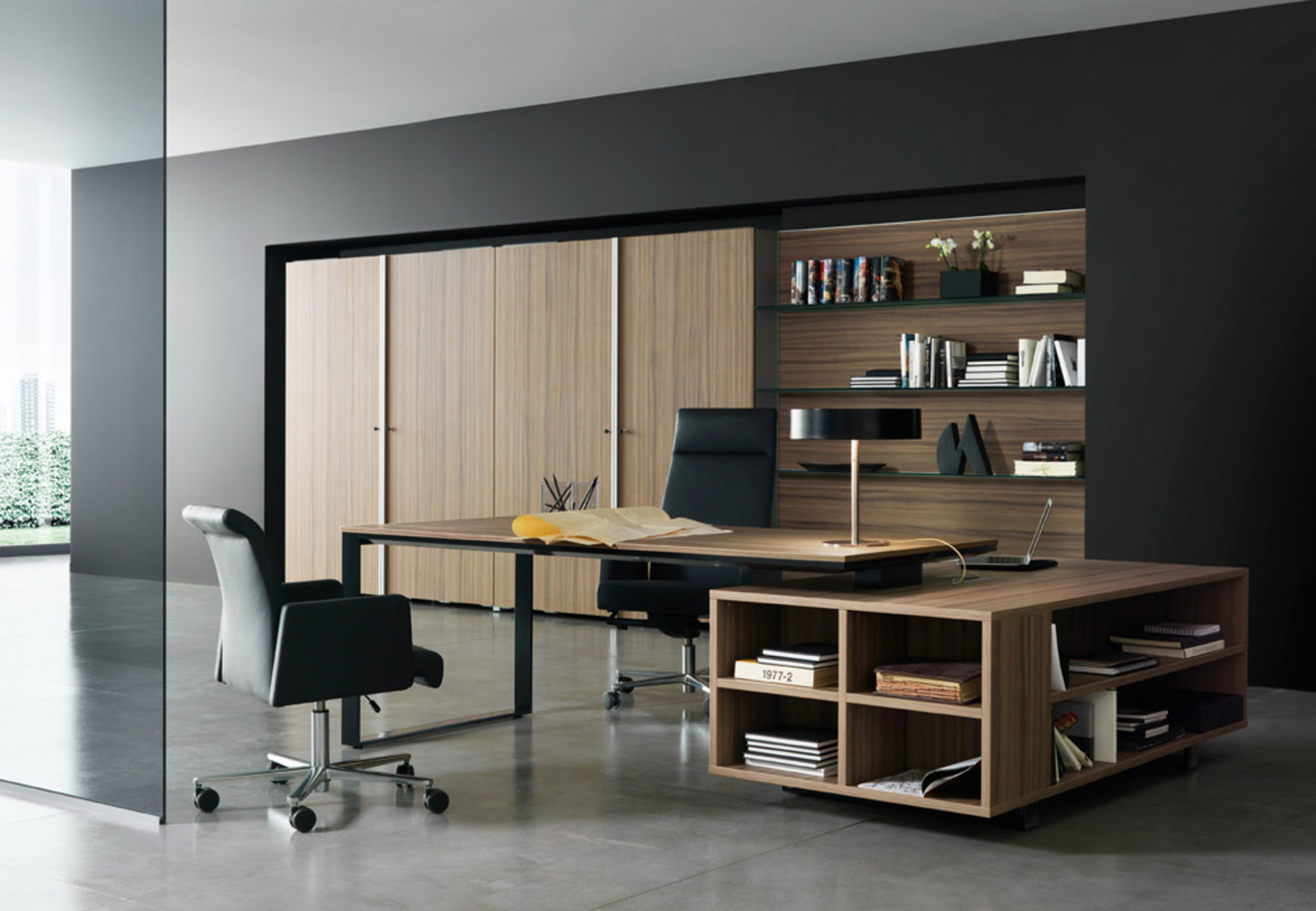 Interior office designs Red Black Interior Hipcouch Complete Interiors Furniture