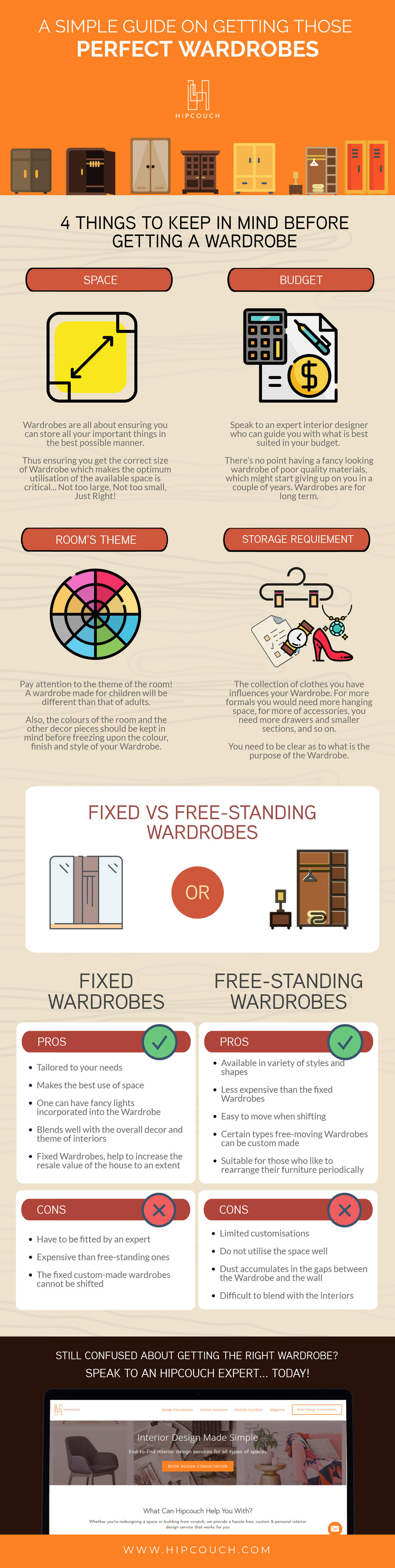All You Need To Know About Getting Those Perfect Wardrobes