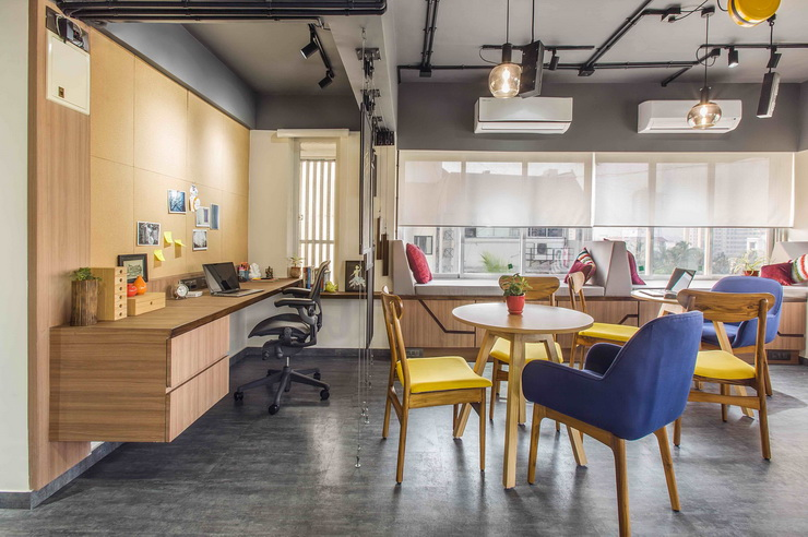 Attractive Layout Ideas For An Inspiring Startup Office (1)