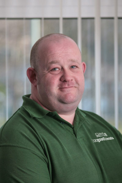 Geraint Davies   Logistics Co-ordinator & Assistant Manager