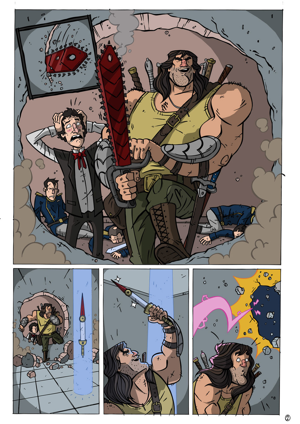 99 Swords #0 pg 2