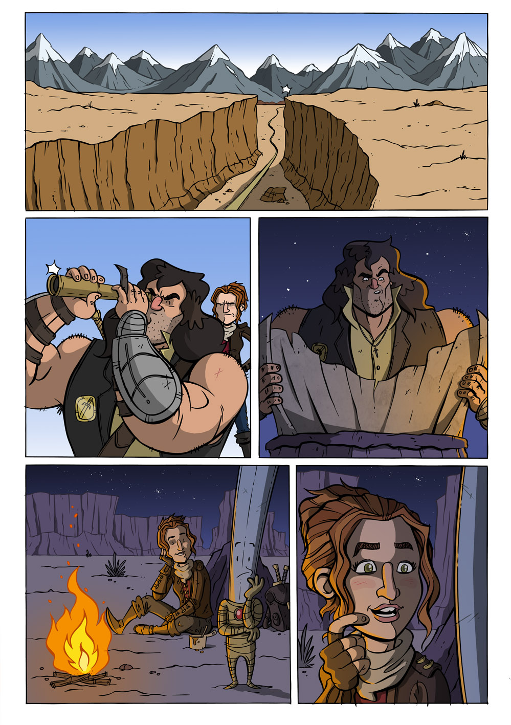 99 Swords #5 pg 1