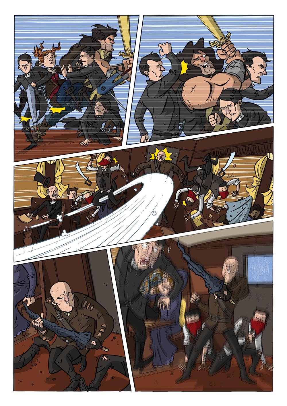 99 Swords #6 pg 2