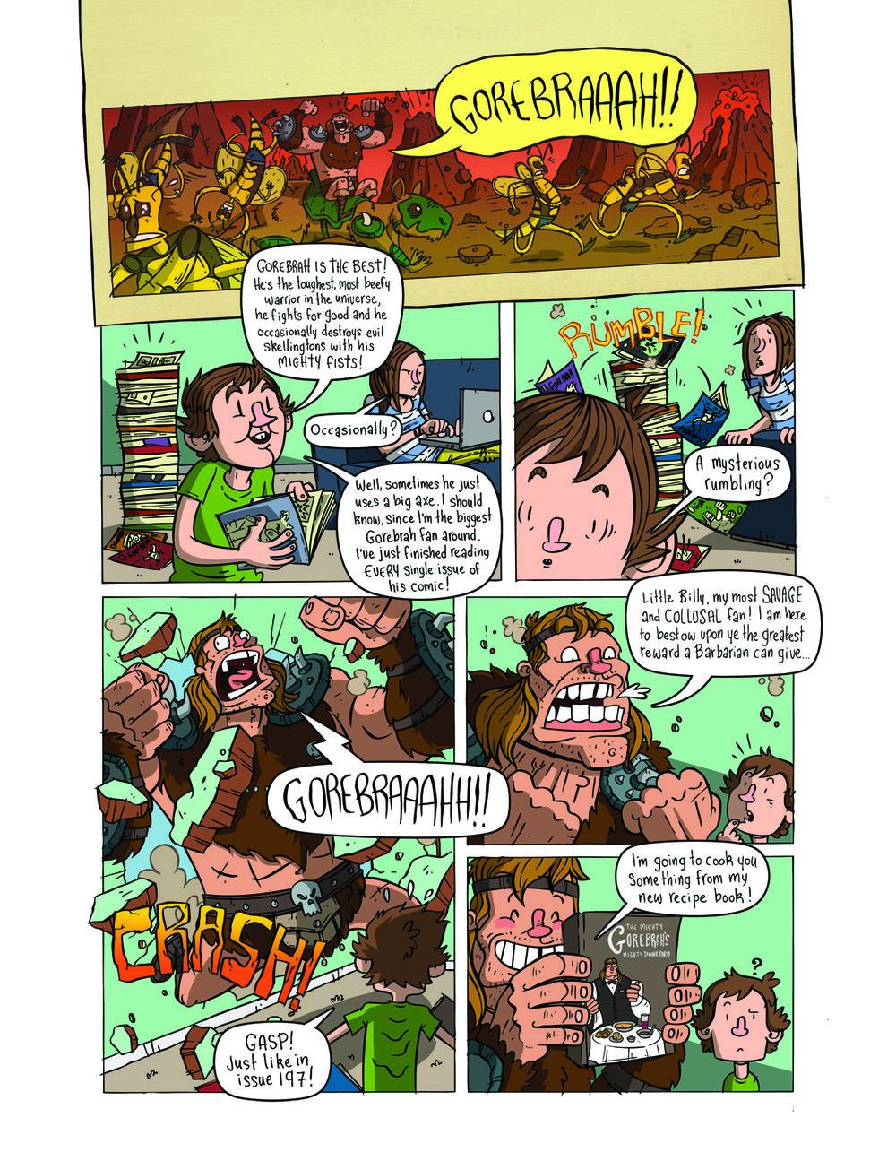 Gorebrah! (The Phoenix #316)