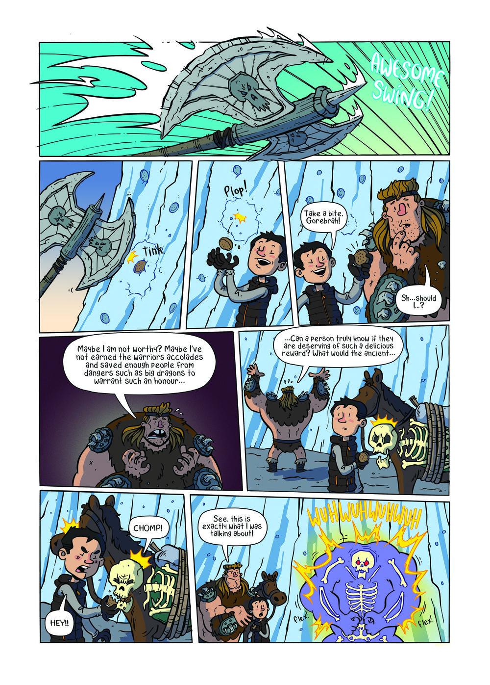 Gorebrah! (The Phoenix #330)