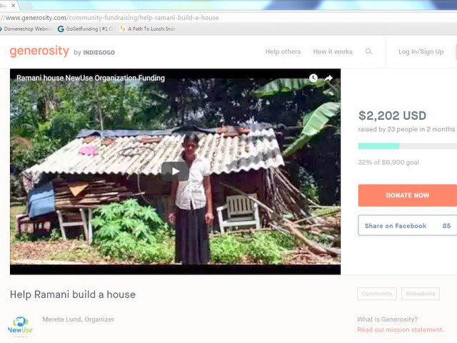 Fundraising_Ramani_house_NewUse_Hikkaduwa