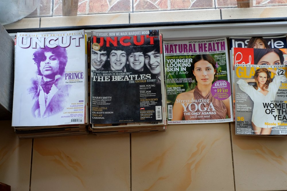 Ann_and_Phil_donated_rock_and_roll_magazines_to_newuse